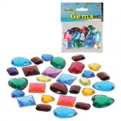 Pirate Party Treasure Plastic Jewels Gem Decorations