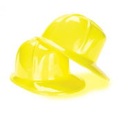 US Toy 163593 Construction Party Hard Hat - child sized