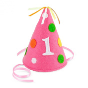Creative Converting Sweet at One Size Felt Party Hat, Girls Child