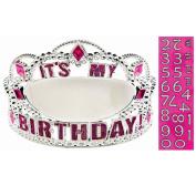 Add an Age Customizable Birthday Tiara Party Supplies