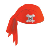 Beistle 60752-R - Pirate Scarf Hat - Red- Pack of 12