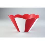 Creative Converting Big Top Striped Bowl