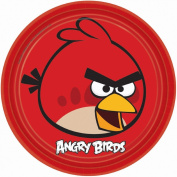 Amscan Angry Birds Party Supplies Lunch Plates 8 pack