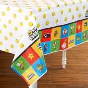 Super Mario Bros. Nintendo Plastic Birthday Party Tablecover [Toy]