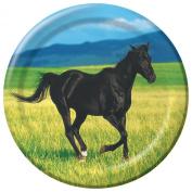 Creative Converting Wild Horses Dessert Plates