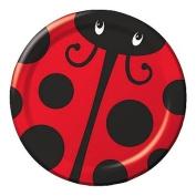 Ladybug Party Supplies 18cm Cake/dessert Plates