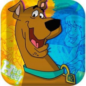 Hallmark Scooby-Doo Mod Mystery Shaped Dinner Plates