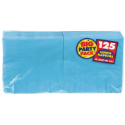 Caribbean Blue Big Party Pack - Lunch Napkins (125 count) [Toy]