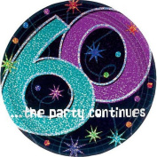The Party Continues 60th Birthday Lunch Plates 8ct [Toy] [Toy]