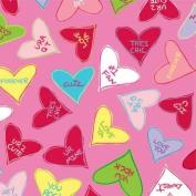 Candy Crush Valentine's Day Beverage Napkins 18 Per Pack