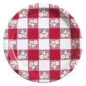 Red Gingham - Dinner Plates