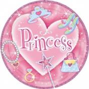 Princess Prismatic Dessert Plates (8 count) Child [Toy] [Toy]