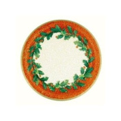 Christmas Holly - Christmas Party Supplies - Dinner Plates