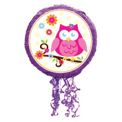 Owl Blossom Pull-String Pinata Party Supplies