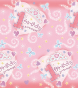 1st Birthday Princess Paper Tablecover [Toy] [Toy]