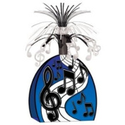 Beistle 57766 Musical Notes Centerpiece - Pack of 12