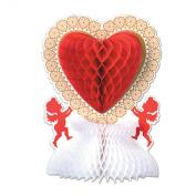 Beistle - 77042 - Valentine Centerpiece- Pack of 12