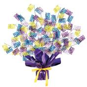 Happy Easter Gleam 'N Burst Centrepiece Party Supplies