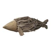 Lazy Susan Natural Driftwood Fish