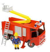 Fireman Sam - Friction Fire Engine with Sam Figure