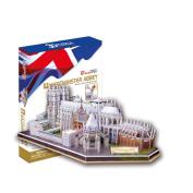 """CubicFun 3D Puzzle """"Westminster Abbey - London"""""""