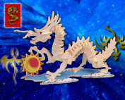 Dragon 3D Woodcraft Construction Kit, Small