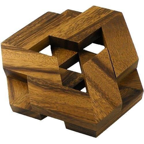 Hexagon Brain Teaser Wooden Puzzle