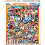 White Mountain Puzzles WM868 Jigsaw Puzzle 1000 Pieces 24 in. x 30 in. - The Eighties