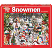 White Mountain Puzzles Snow Day Jigsaw Puzzle, 1000-pieces