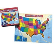 USA Puzzle Jigsaw Puzzle 60pc