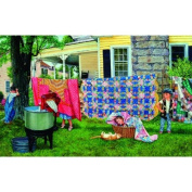 Hide N Quilt 550pc Jigsaw Puzzle by Susan Brabeau