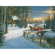 White Mountain Puzzles Holiday Sleigh Ride