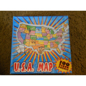 USA Map Puzzle-100 Pieces