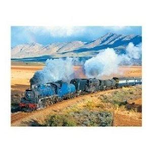 Train Trek 500 Piece Jigsaw Puzzle