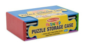 Melissa & Doug 4 Puzzle Pack with Storage Case