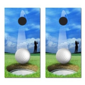 Victory Tailgate Golf Hole In One Cornhole Game Set