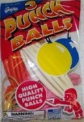 Punch Balls Assorted Colours Package of 3 - Made in USA!