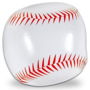 White Synthetic Leather Soft Sport Ball -- Softball Size