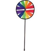 In The Breeze Rainbow 20cm Single Wheel Garden Spinner