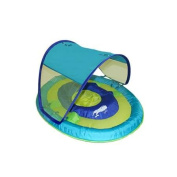 Swimways Baby Spring Float with Canopy - Blue Aqua Whale