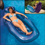 Poolmaster Riviera Wet/Dry Sun Lounge (Colour