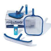 Swimline Hydro Tools 8611 Premium Pool Maintenance Kit with Test Strips, Blue