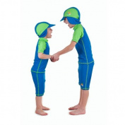 Boys size 6 Sun UV Protective Rashguard Swimsuit swim shirt & shorts SPF+50 Swim Suit for Kids Age 6 Years Old