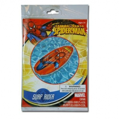Spiderman Inflatable 70cm Swim Raft