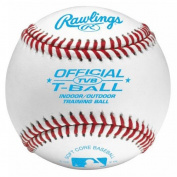 Rawlings Indoor/Outdoor T-ball Baseball - Leather Cover