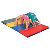 TUMBLING MAT 4' X 8' X 5.1cm MADE IN THE USA PHTHALATE FREE, MEETS CPSIA 2008 LAW