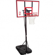 Spalding 72351 Portable Basketball System with 110cm Polycarbonate Backboard