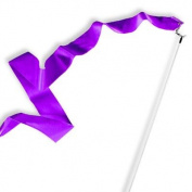 Purple Gymnastics Ribbon Wand