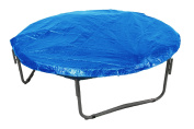 King Service Holdings UBWC-12-BL 12 Trampoline Protection Cover (Weather & Rain Cover) Fits for 12 FT. Round Trampoline Frames - Blue