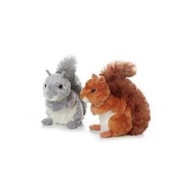 Nutty Grey Squirrel 17cm by Aurora